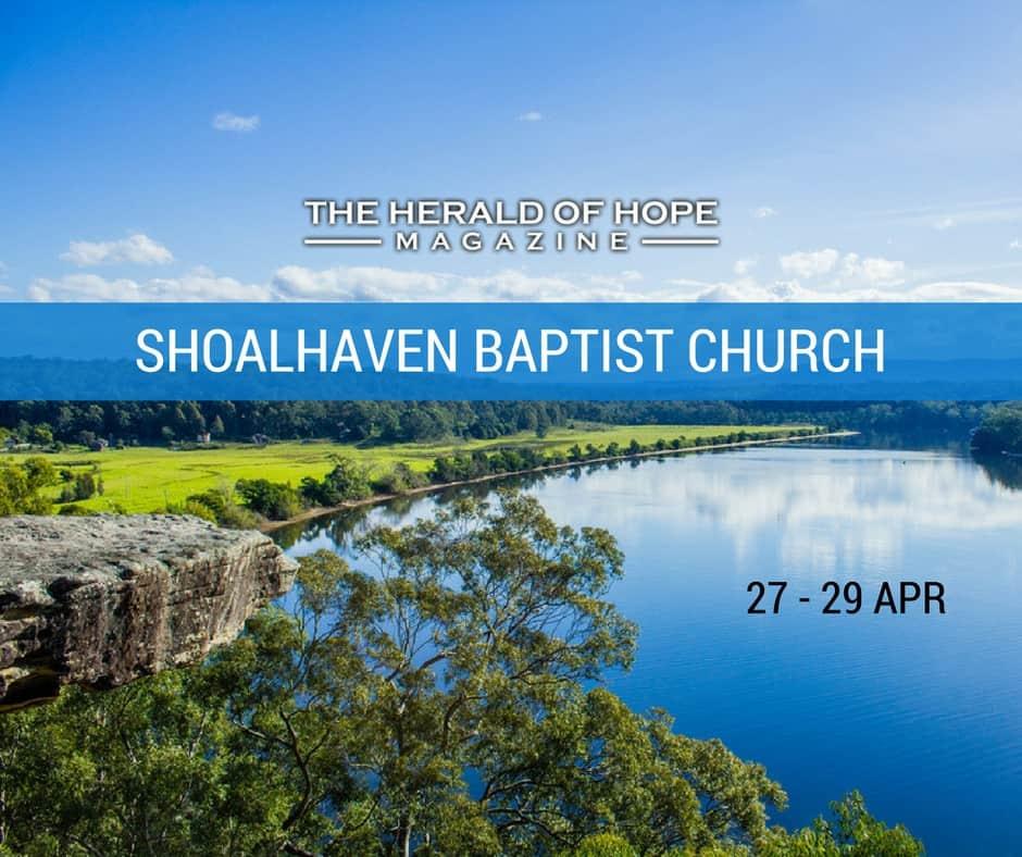 Shoalhaven Baptist Prophecy Conference