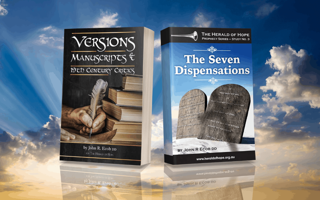 New Publications Available Versions and Dispensations