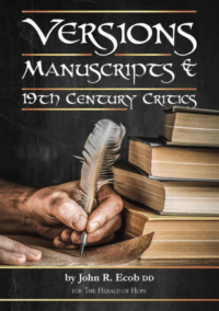 Versions: Manuscripts & 19th Century Critics